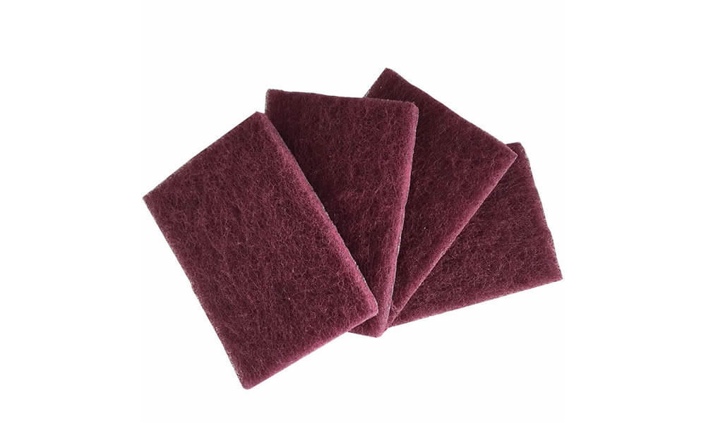 Red Industrial Scouring Pad